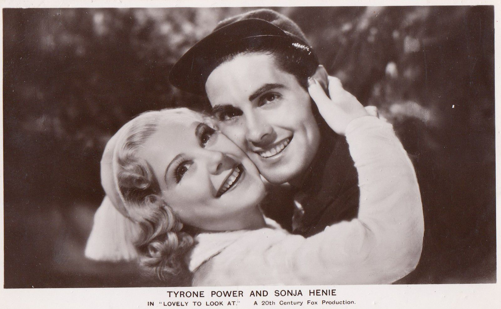 Tyrone Power & Sonja Henie Lovely To Look At Vintage Film