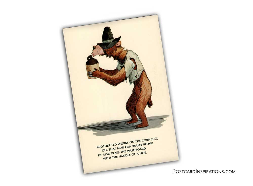 The Country Bear Jamboree (Postcard)