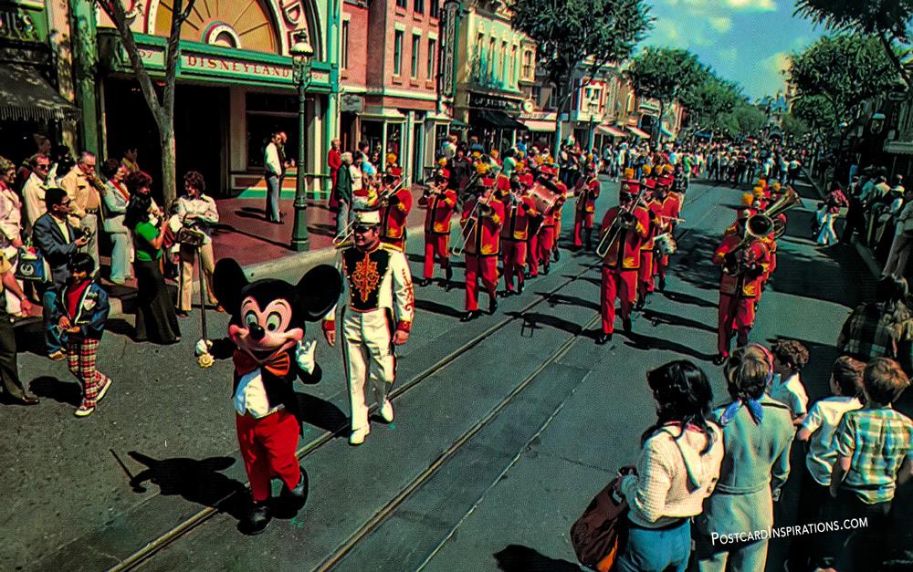The Disneyland Band (Postcard)