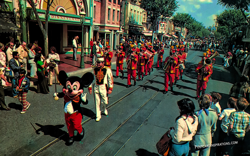 The Disneyland Band (Postcard)