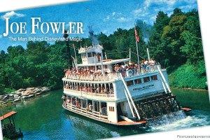 Joe Fowler, the Man Behind Disneyland Magic: Walt Disney Inspirations