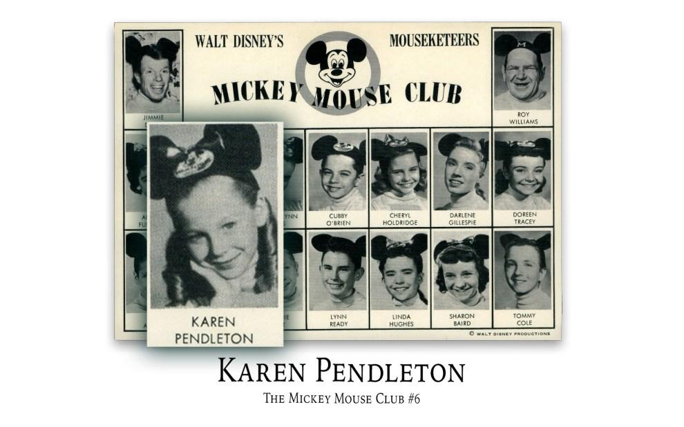 Karen Pendleton: The Mickey Mouse Club
