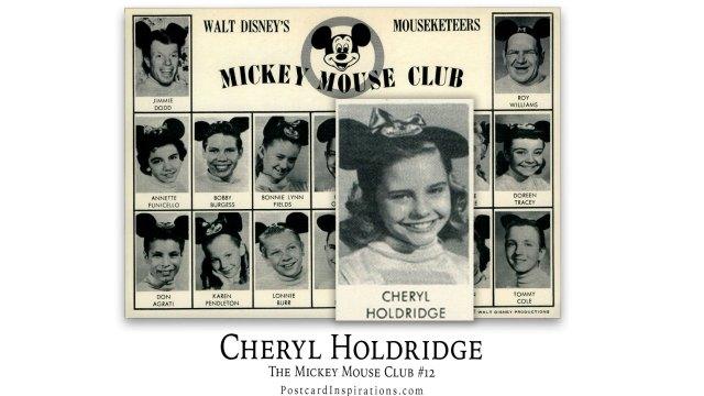 Cheryl Holdridge: The Mickey Mouse Club #12