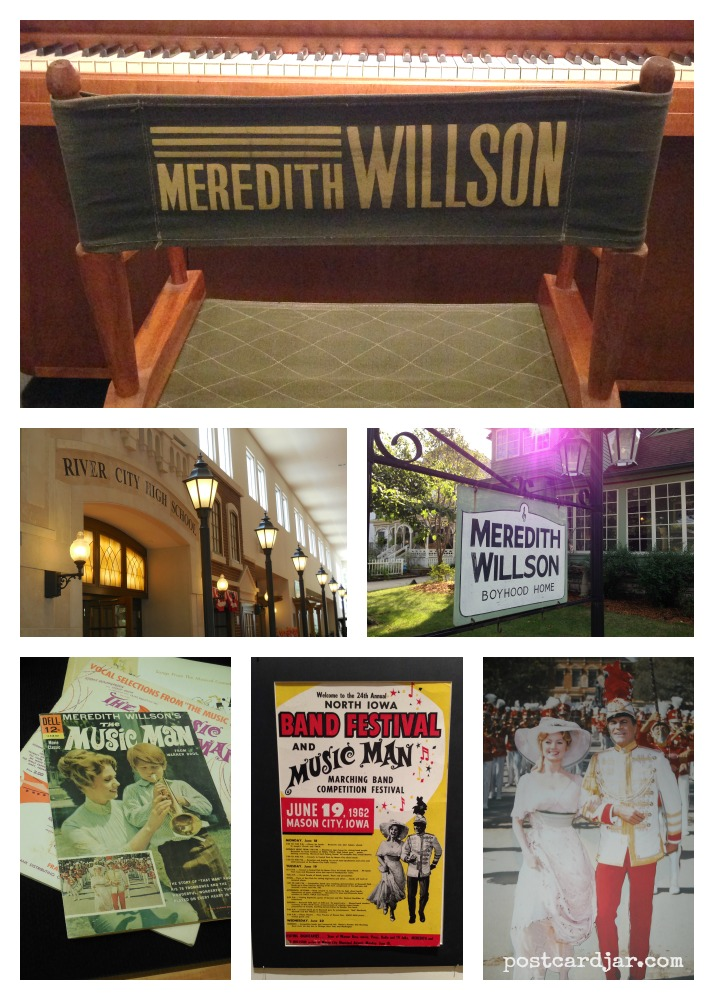 Some of the things we saw at The Music Man Square and museum in Mason City, Iowa.