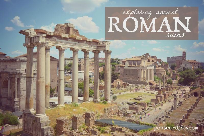 Exploring Ancient Roman Ruins