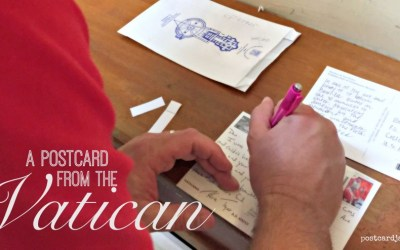 A postcard from the Vatican