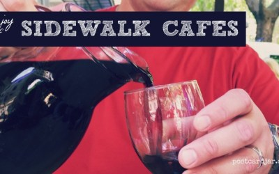 The Joy of Sidewalk Cafes
