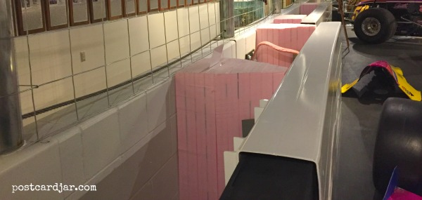 The pink insulation used in SAFER walls is actually just foam insulation you can purchase at most home improvement stores.