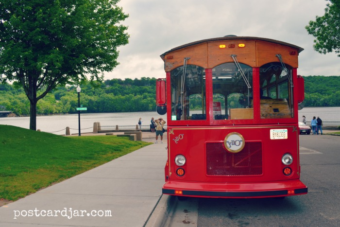 The Stillwater Trolley Company provided a great tour of the city with lots of history about everything from log jams and river rats to a sneak peek at the home where Hollywood actress Jessica Lange once lived.