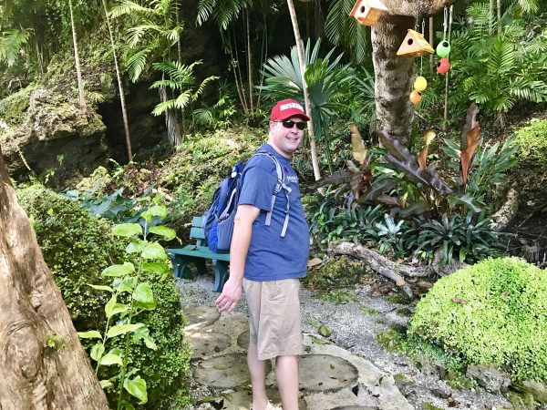We had a great tour through Orchid World where we learned about all of the plants and birds there.