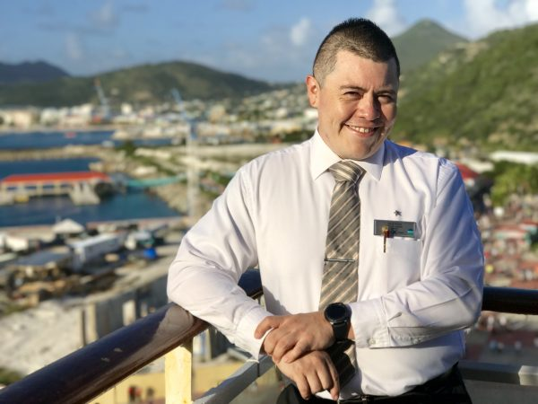 Gustavo is one of the many incredible crew members on the Celebrity Summit whom we've had the privilege to meet.