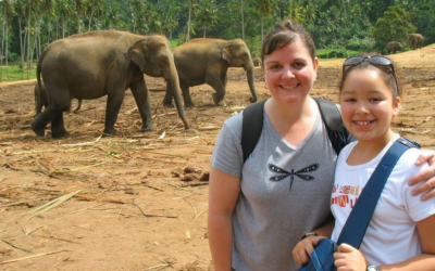 A guest post from our daughter, Meghan – Lessons I learned traveling with my mom