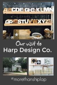 Harp Design Co. in Waco, Texas.