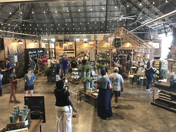 Magnolia Market late in the day