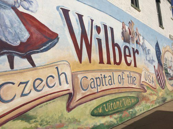 Wilber, Nebraska sign