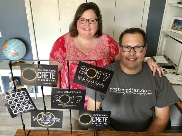 Steve and Ann Teget, founders of www.postcardjar.com