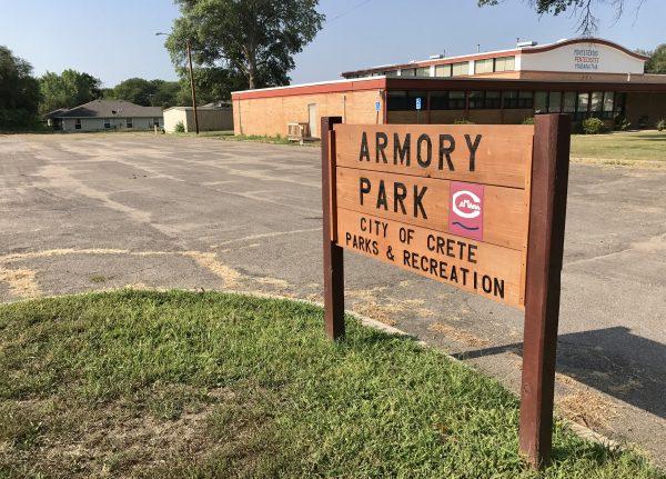 Armory Park in Crete, Nebraska