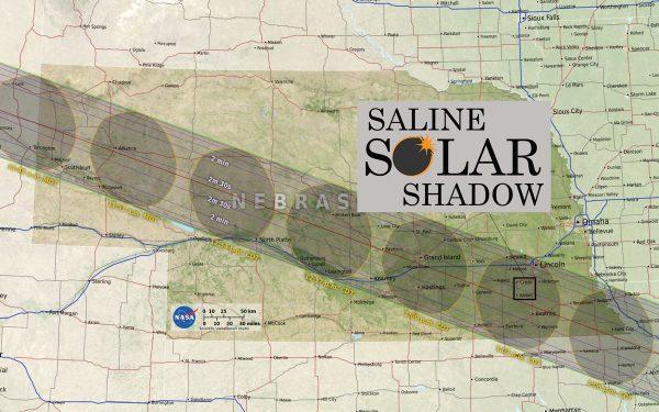 Nebraska eclipse path
