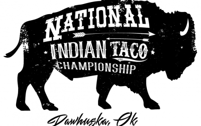 Yes, we're going to be celebrity judges at the National Indian Taco Championship!
