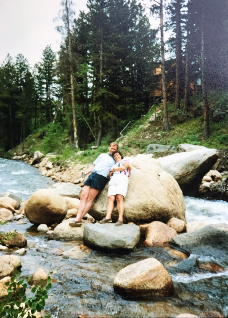 John and Gayle on a vacation to Colorado.