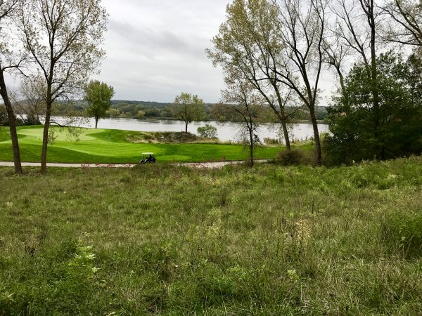 View of the Platte River from Quarry Oaks Golf Course.