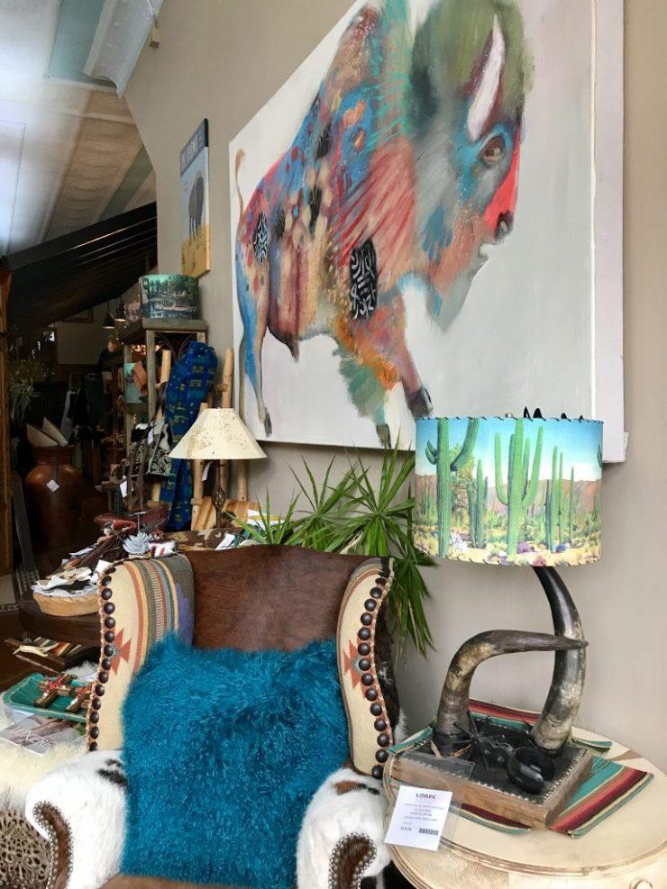 LOREC Ranch furniture and accessories, Pawhuska, Oklahoma