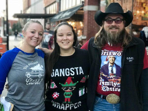 Cody and Lauren Garnett and Reba Bueno, Pawhuska, Oklahoma