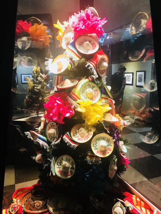 Durham Museum, Mexican themed Christmas Tree, Omaha, Nebraska