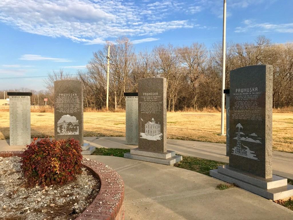 Veterans' Memorial, Pawhuska, Oklahoma