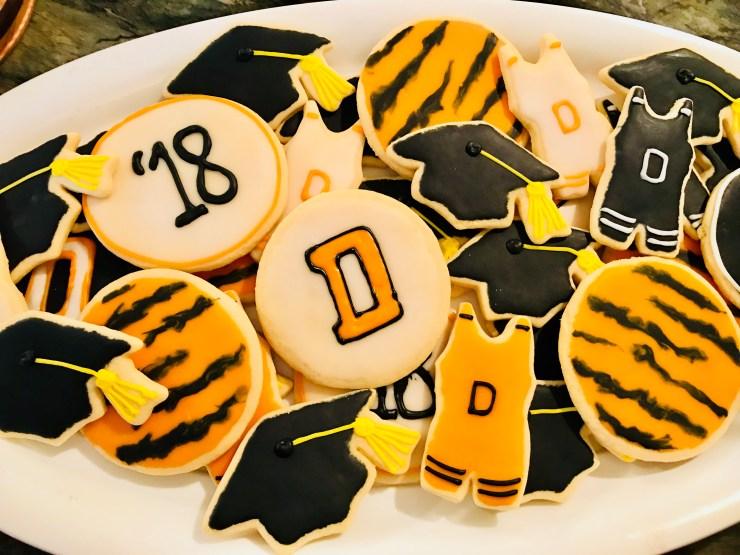Graduation cookies.