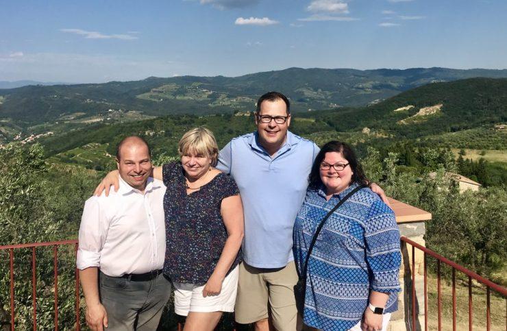 Massi, Deb, Steve and Ann