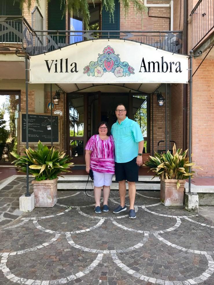 Villa Ambra hotel, Montepulciano