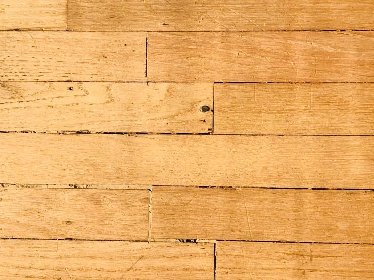 Pawhuska house hardwood floors