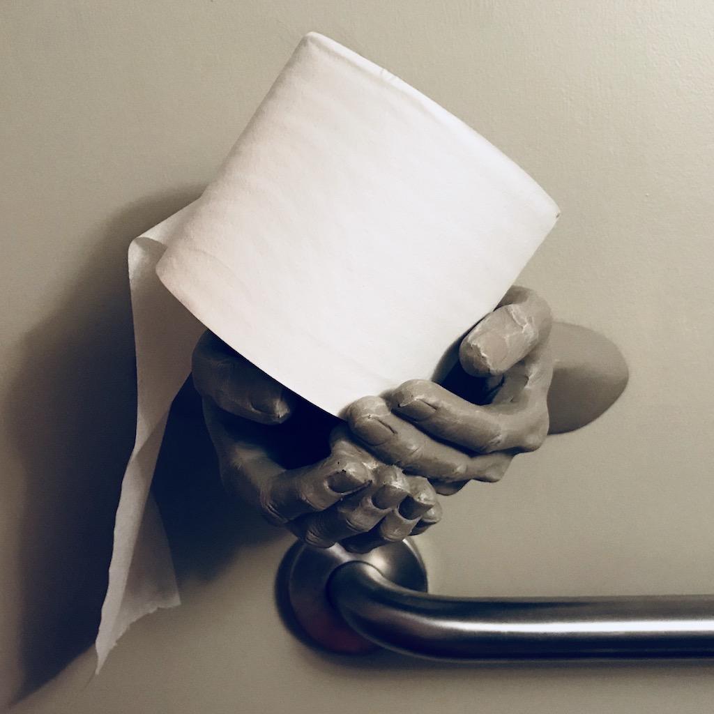 Grinnell Iowa Solera bar toilet paper holder