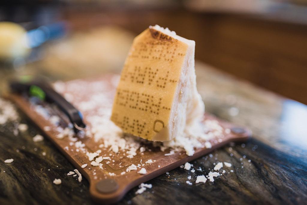 Parmigiano-Reggiano cheese The Chef & The Dish