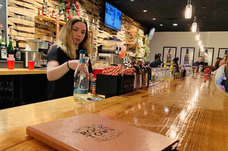 Rock Town Distillery bar