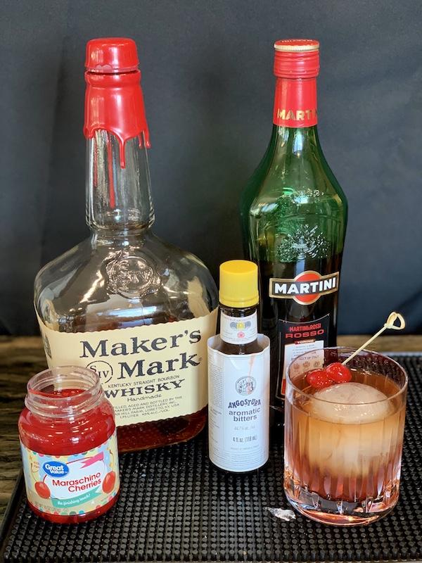 how to make a Manhattan cocktail