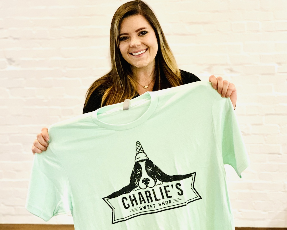 tshirts at Ree Drummond's new ice cream shop7