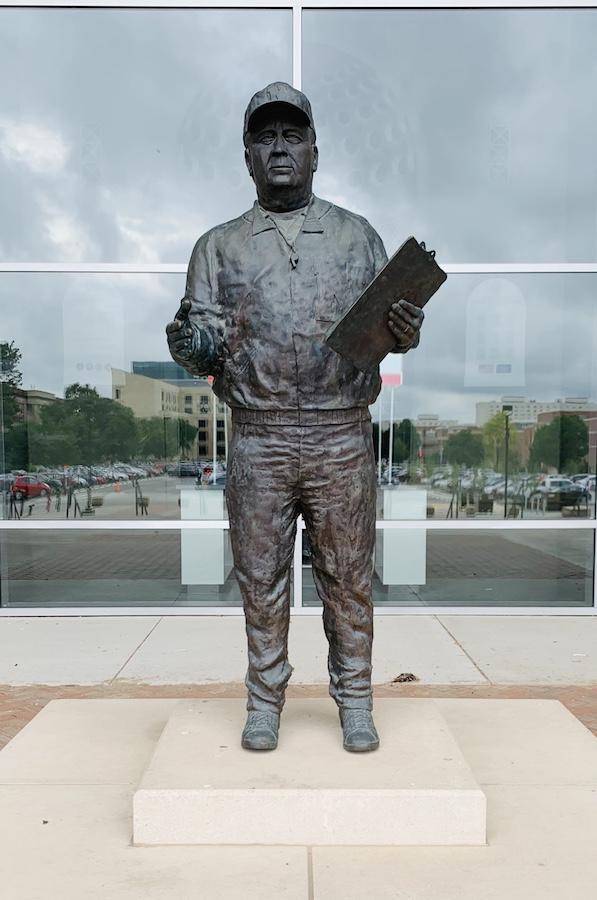 Memorial Stadium Lincoln Bob Devaney Statue