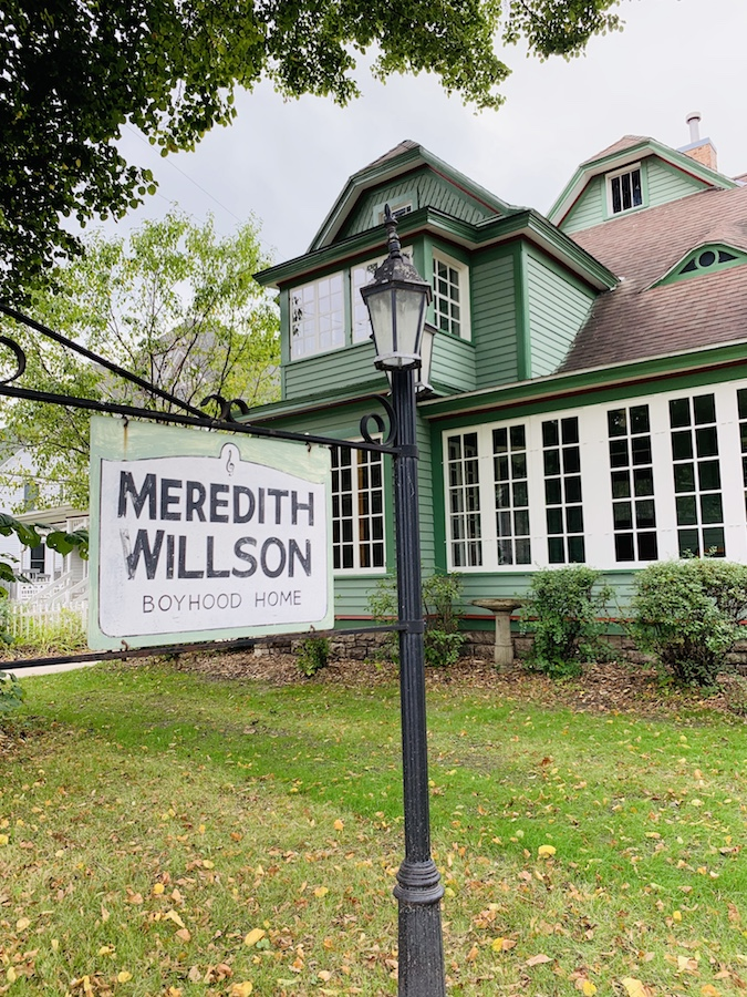 Meredith Willson Childhood home in Mason City