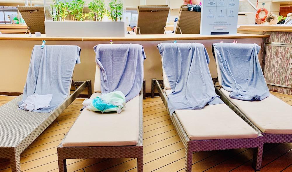 Chair hog cruise ship etiquette