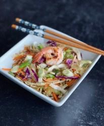shrimp egg roll in a bowl recipe