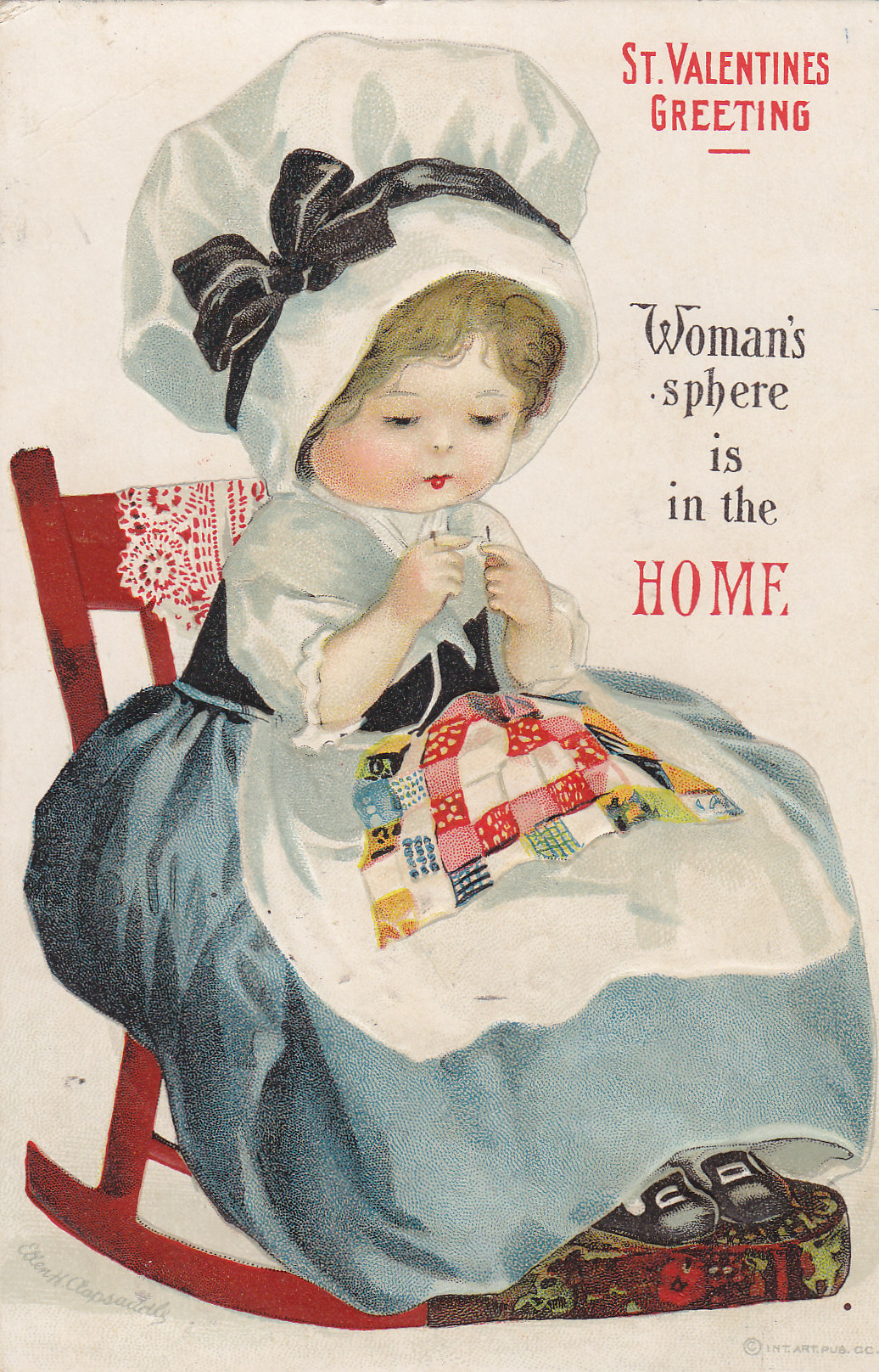 Womens Suffrage Valentine Cards Moores Postcard Museum