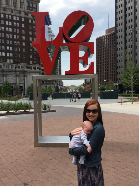 In and Around Philadelphia with an Infant