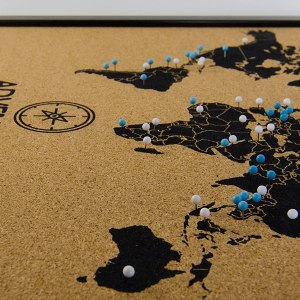 Best Travel Gifts Travel Cork Map