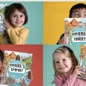 """Personalized """"Where's [Kyle]"""" Book Best Travel Gifts Kids"""
