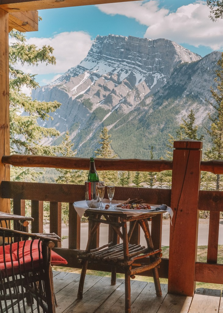 Buffalo Mountain Lodge Balcony View