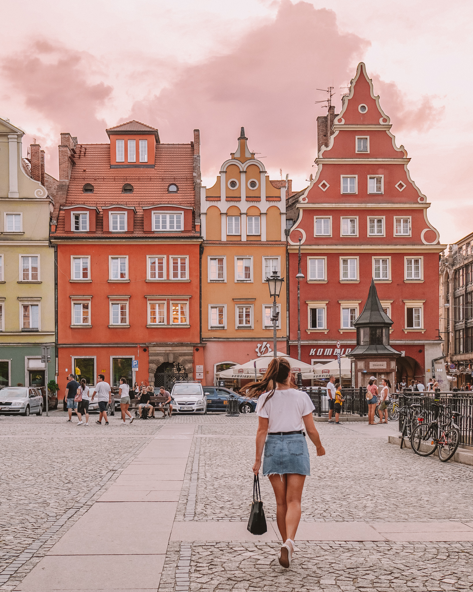 Walking through Wroclaw, Poland