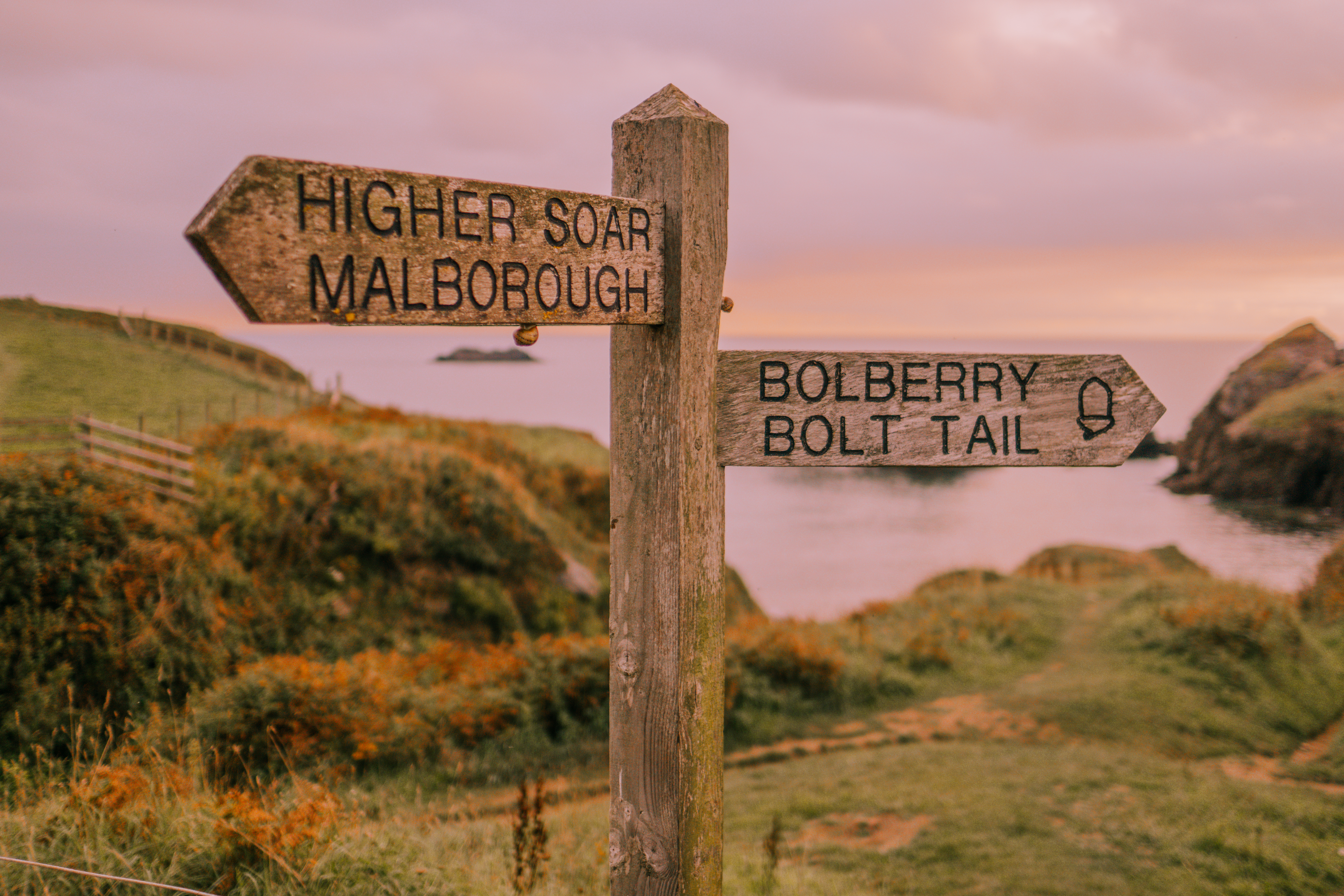 Walking the south West coast Path in Devon