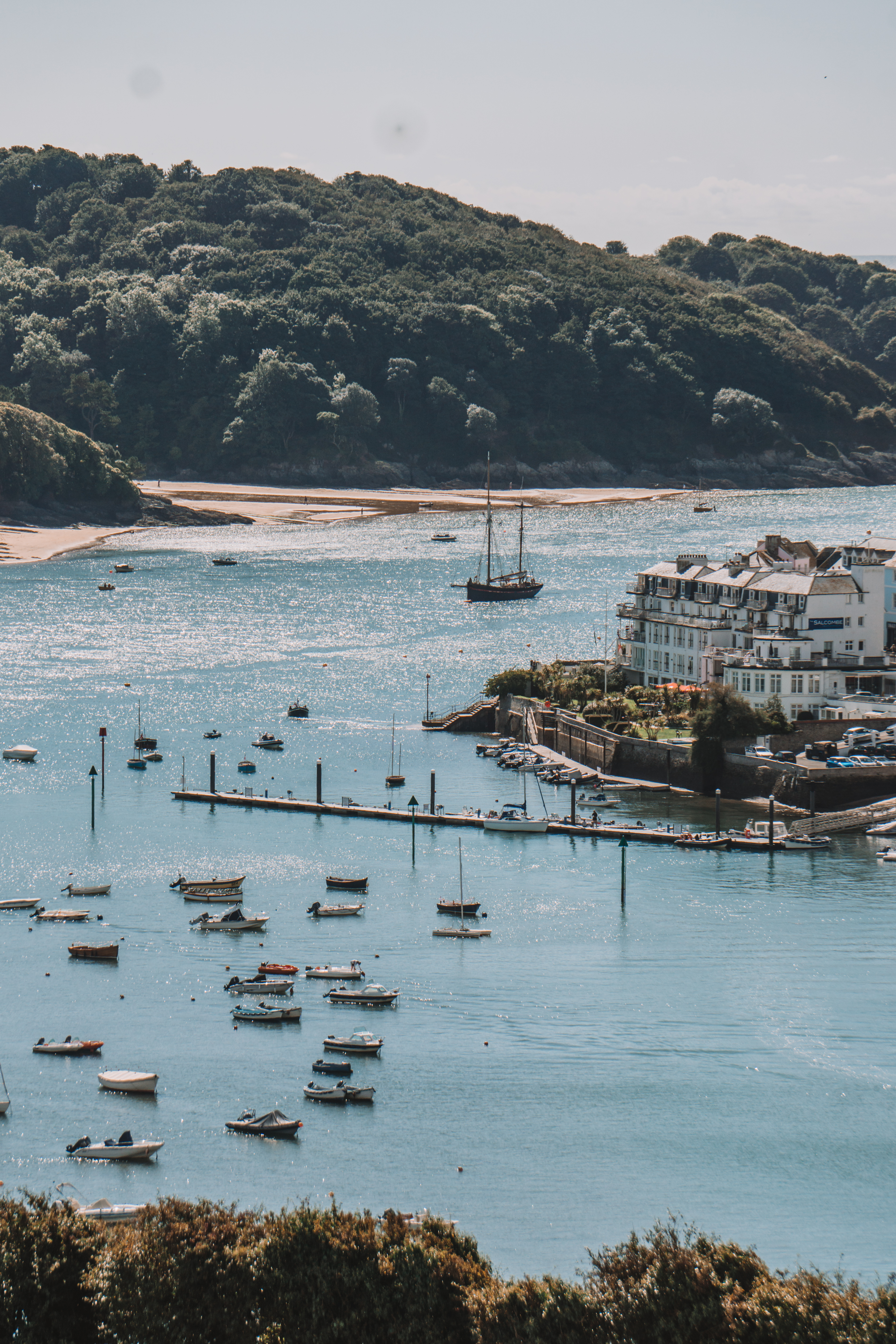 Overlooking the Kingsbridge estuary from Snapes Point, Salcombe